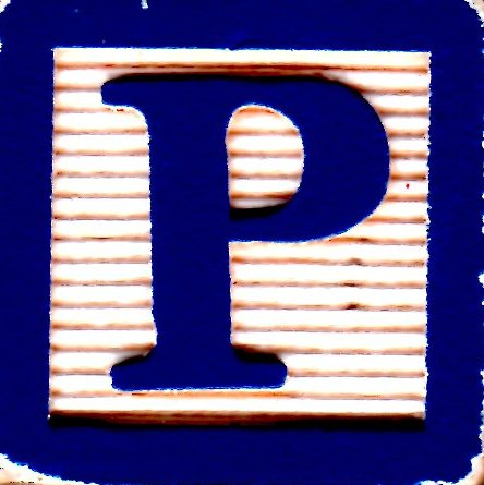 A Day's Journey: The Letter P