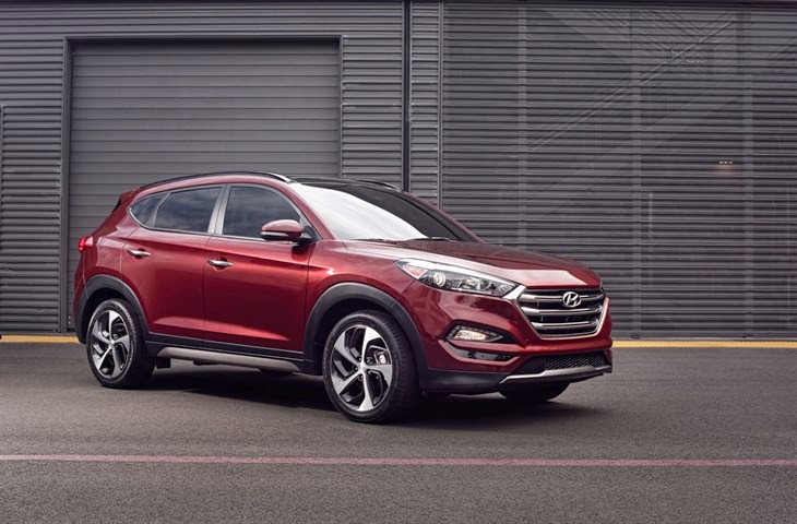 All-New 2016 Hyundai Tucson Crossover