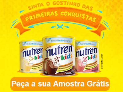 Solicite Amostra Grátis do Produto Nutren Kids da Nestlê