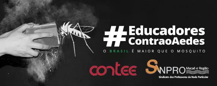 Educadores contra o Aedes
