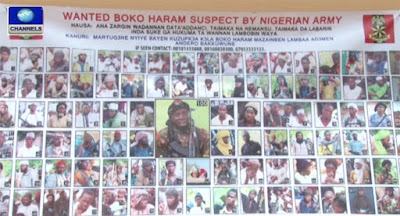 Wanted Boko Haram Suspect List