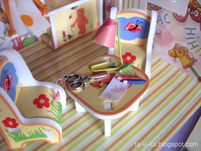 Как сделать мебель для куклы своими руками картинки 46