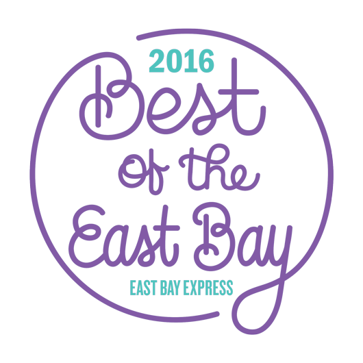 "We were voted ""Best of the East Bay"" for the last 6 years! Help us win again!"