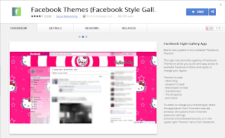 Facebook Themes Facebook Style Gallery App chrome pic