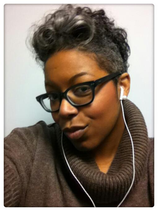 Gray Natural Curly Hair Caucasian Women