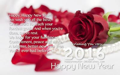 Happy New Year Poems 2016