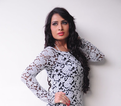 Stylish Ananya thakur in  lace embellished neckline and full sleeves dress enhance the feminine silhouette