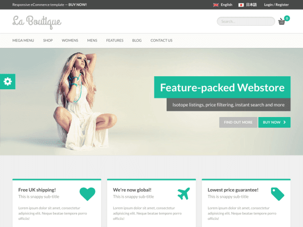 La Boutique - WooCommerce Theme