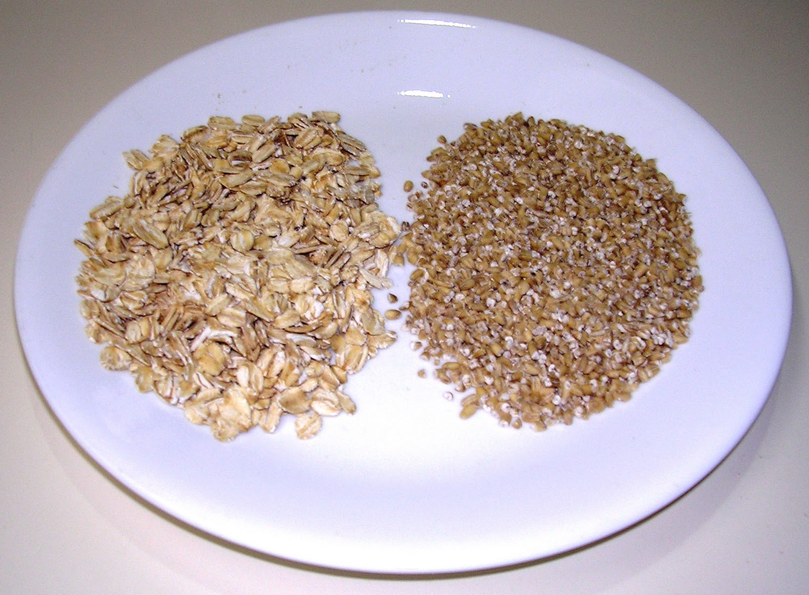 How do steel cut oats differ from rolled oats (old fashioned oats)?