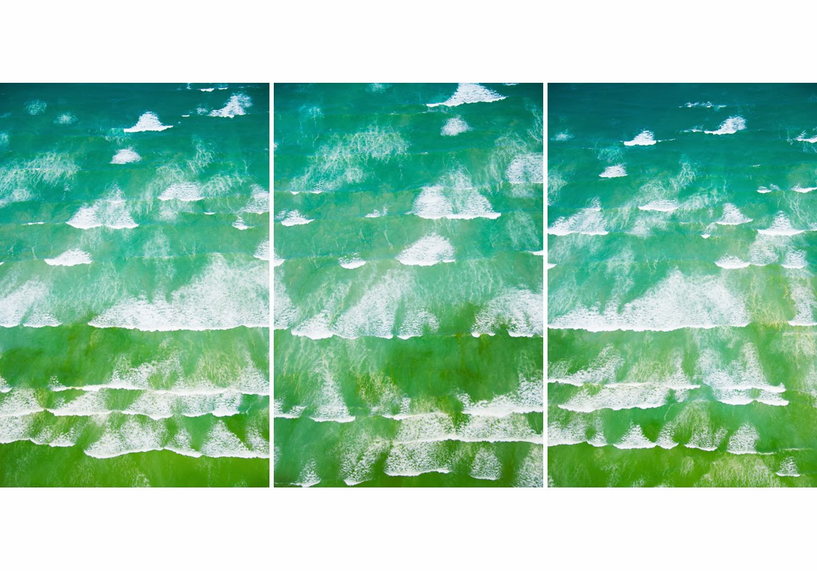 waves of cape town triptych