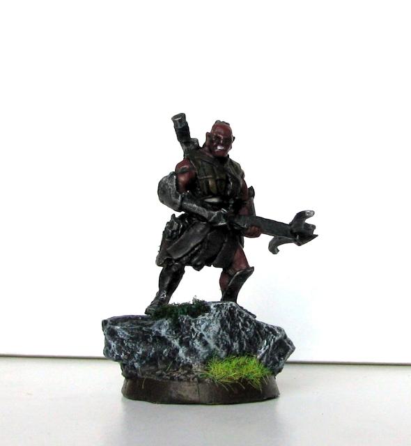 Figurki Isengard - Uruk-Hai Captain