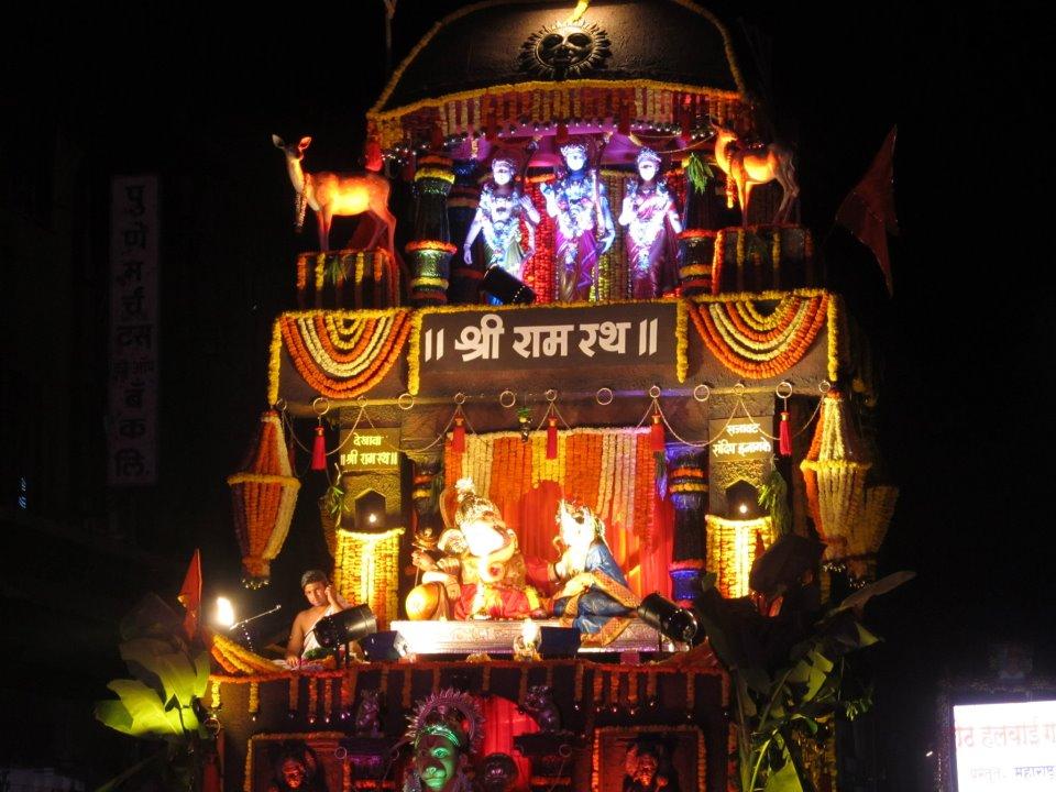 Ganesh Visarjan Pune 2012 Festival Celebrations Images