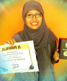 "Juara II Lomba Blog: Viro ""Live The Moment"" Tahun 2012"