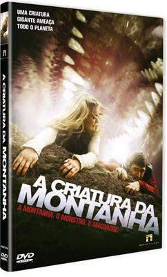 Filme Poster A Criatura da Montanha DVDRip XviD Dual Audio & RMVB Dublado