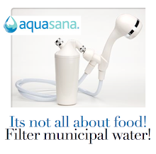 Its not all about food! Filter your water!