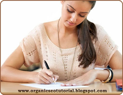 organic seo tutorial article writing