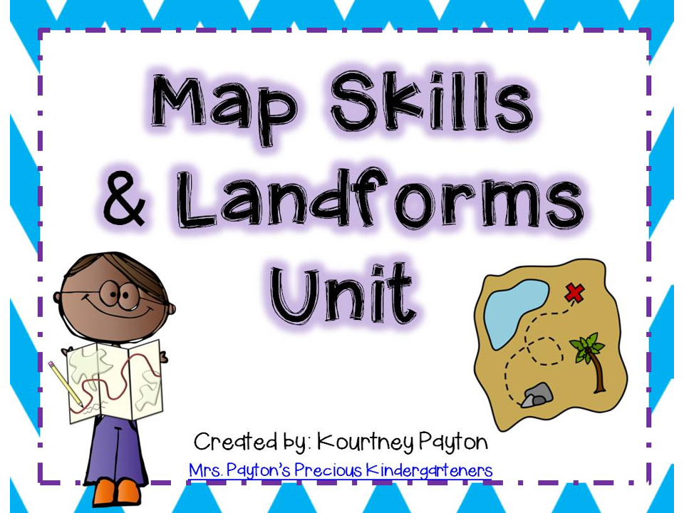 http://www.teacherspayteachers.com/Product/Map-Skills-Landforms-Unit-539654