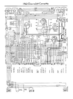 auto wiring diagram 2011 1960 chevrolet corvette wiring diagram