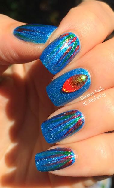 ehmkay nails born pretty iridescent