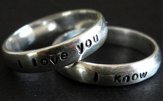 Records Grammar Wedding Ring Engravings
