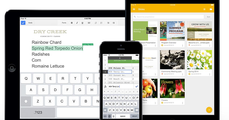 Google 簡報 iPhone、 iPad App 下載,支援編輯Office!