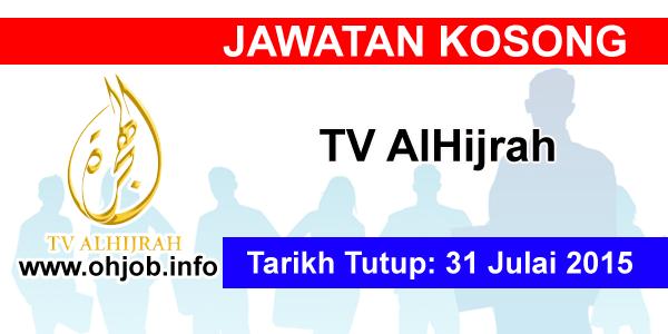 Jawatan Kerja Kosong TV AlHijrah logo www.ohjob.info julai 2015