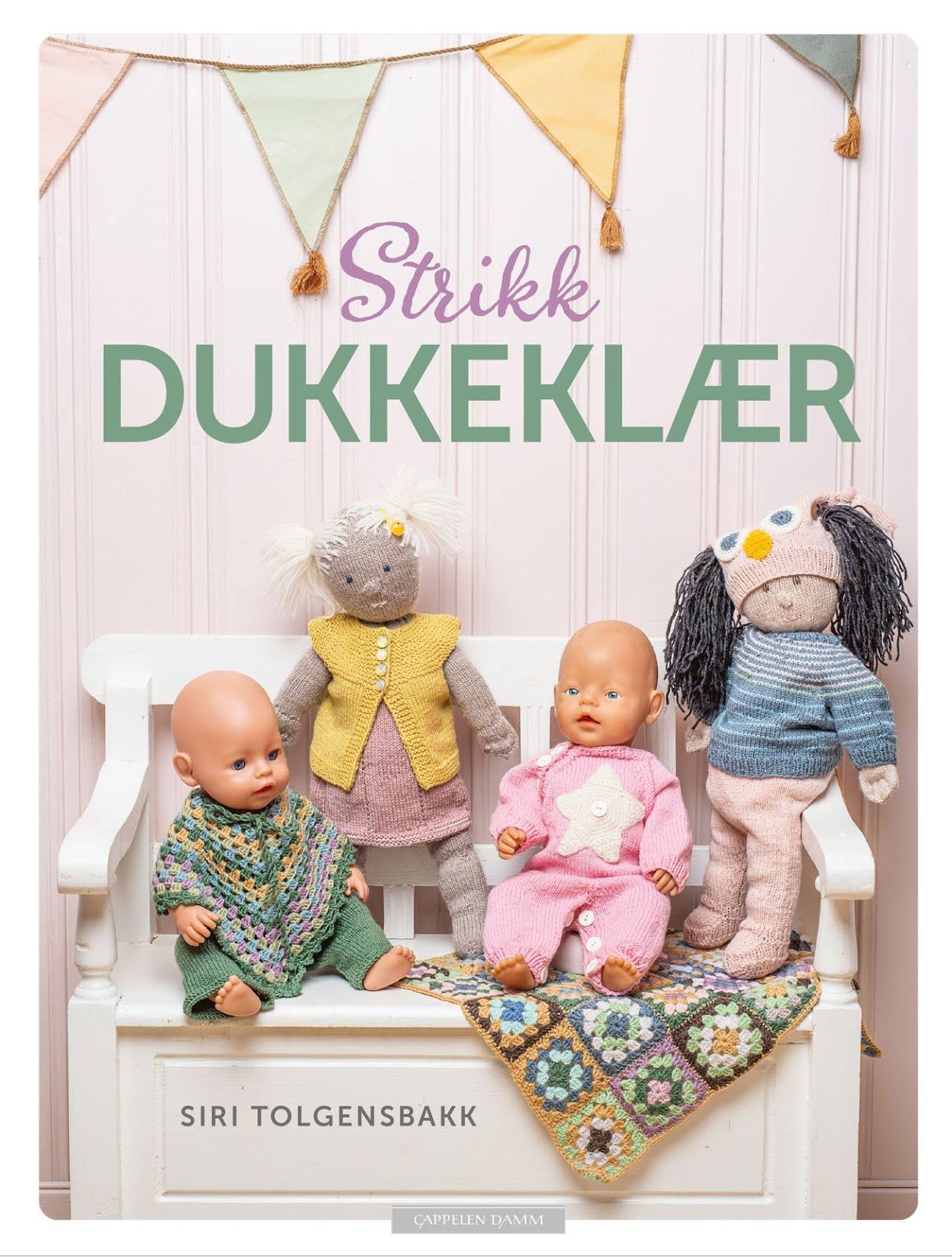 Strikk Dukkeklær, Siri og Sara