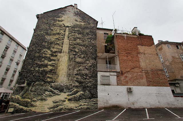 Street Art By Miron Milic For The MUU Street Art Festival In Zagreb, Croatia. 1