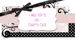 Pri Crafty Catz sem bila izbrana med TOP 3 izdelke