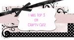 Pri Crafty Catz sem bila izbrana med TOP 3 izdelke