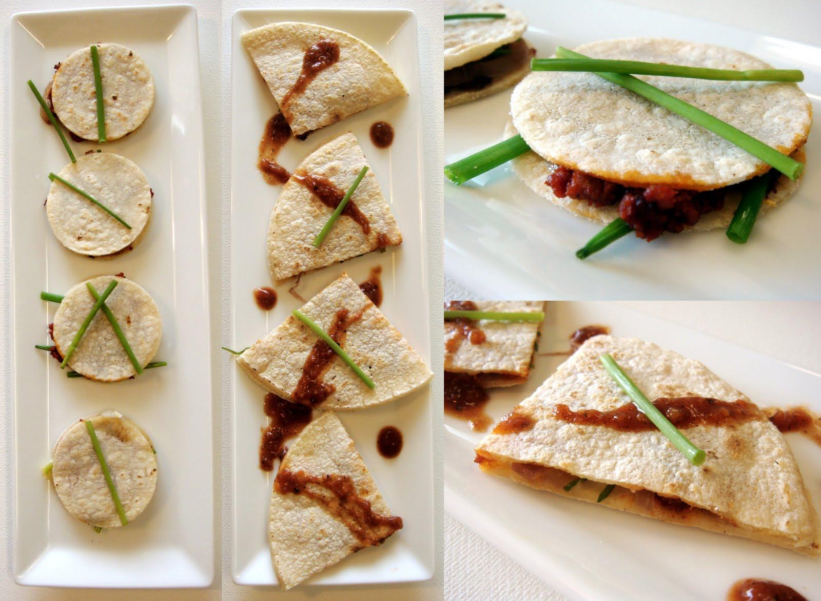 Mushroom And Manchego Quesadillas Recipe — Dishmaps