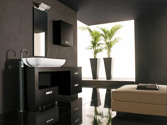 Modern bathroom vanities designs interior home design for Photos of contemporary bathrooms