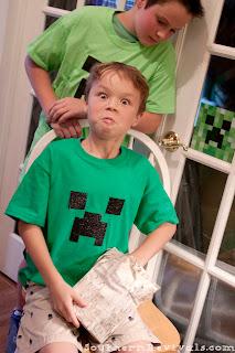 DIY Minecraft Birthday Party