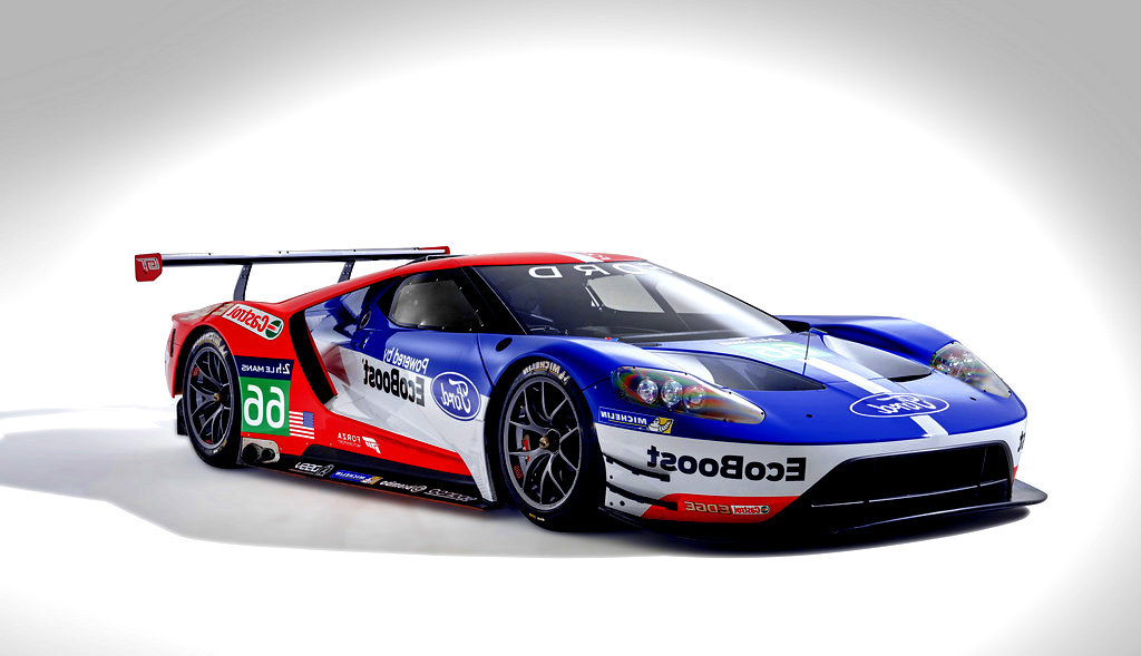 Sport cars 2016 ford gt le mans race car