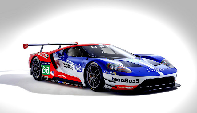2016 Ford GT Le Mans Race Car - Front Wallpaper