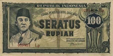 Uang Kertas 100 Rupiah 1945