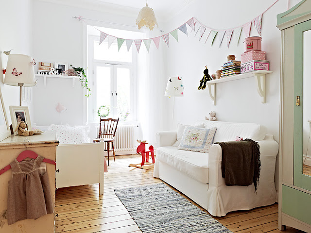 Country Style Chic Bright Charming Scandinavian Style