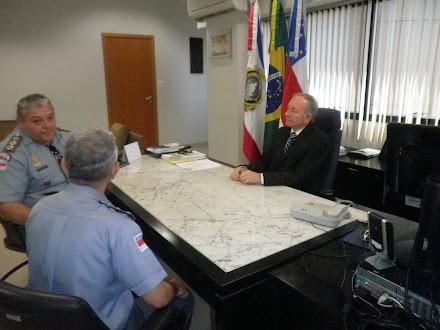 Ten Cel Pacheco faz um balanço histórico do COPBMAM até a reconquista pelo O RESGATE 2011