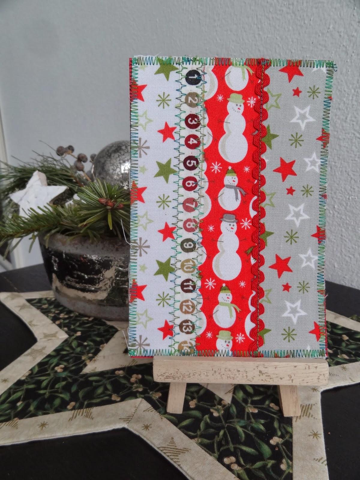 Misspatchwork erste weihnachtspost for Nostalgische weihnachtskugeln