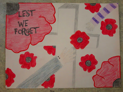 Remembrance Day Winning Posters Remembrance Day Posters