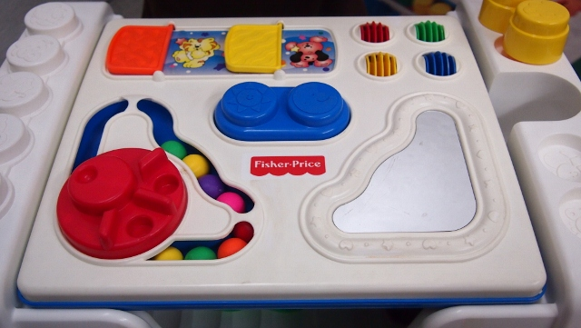 Juaimurah fisher price activity table - Table activite fisher price ...