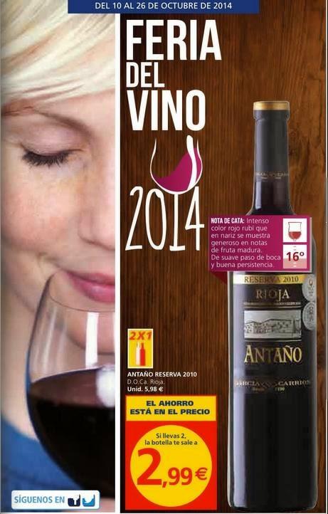 catalogo alcampo feria vino 2014