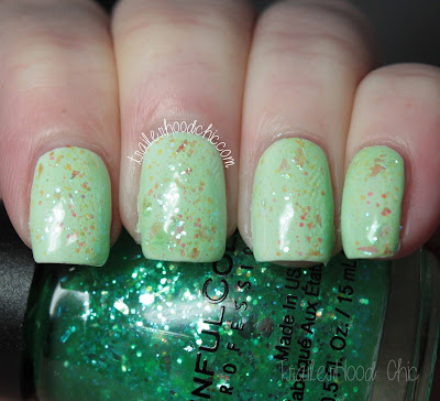 sinfulcolors having a blast snow me white green ocean