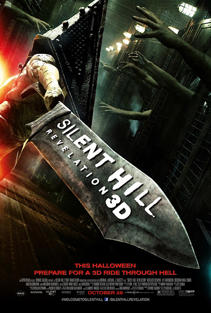 Silent Hill Revelation 3D Pyramid Head Poster