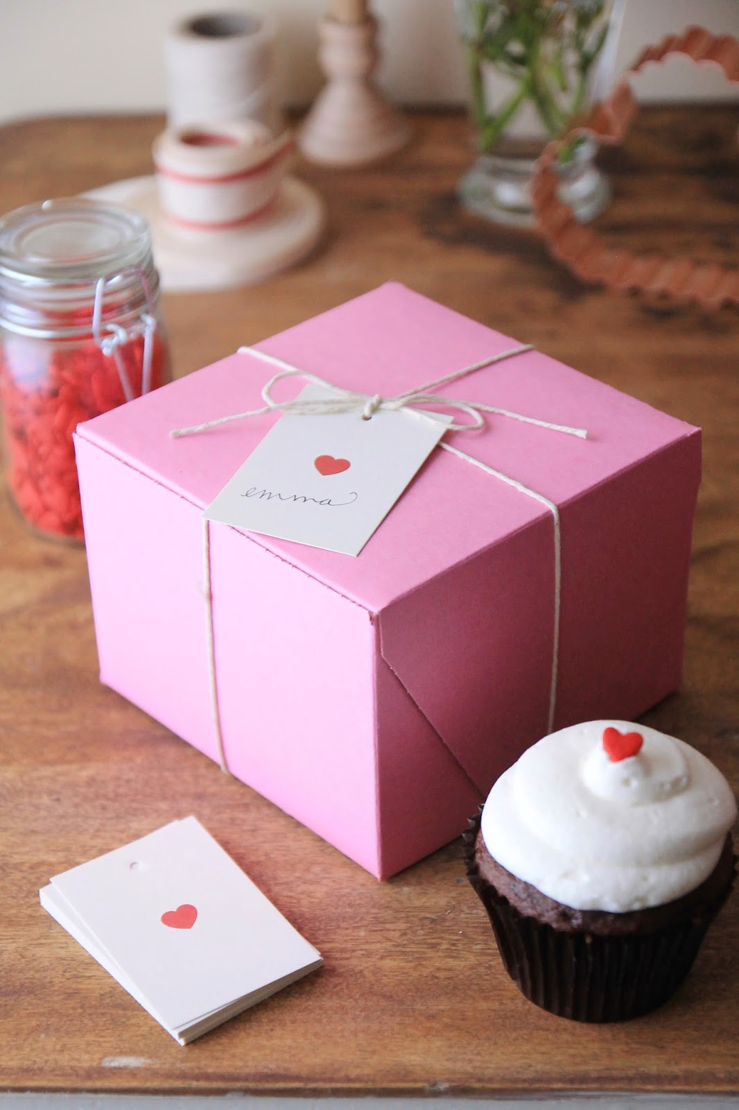 Cute Bakery Boxes Bakery Boxes Heart Tags
