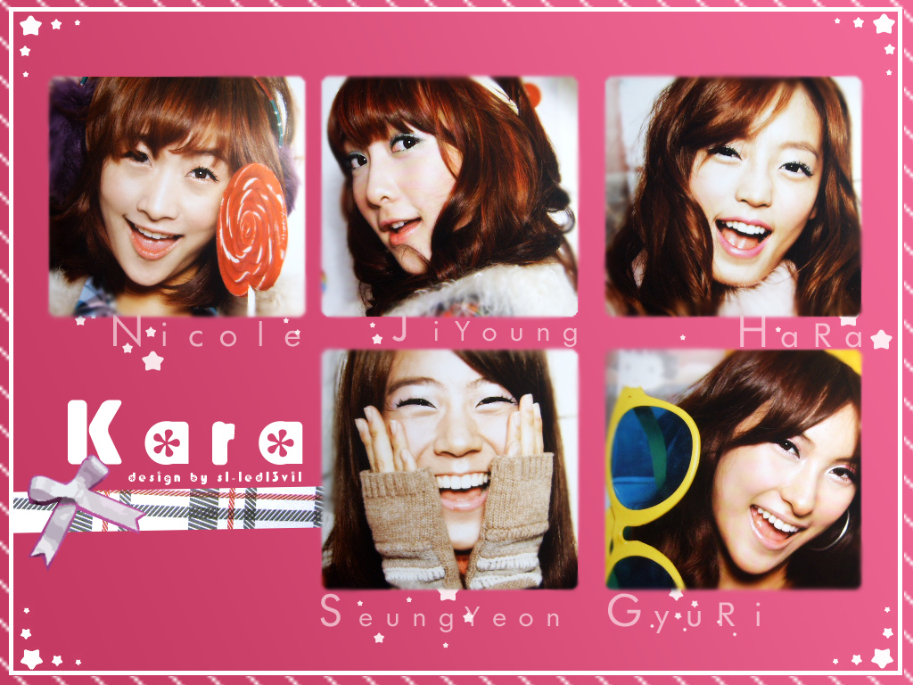 Kara members profile with pictures