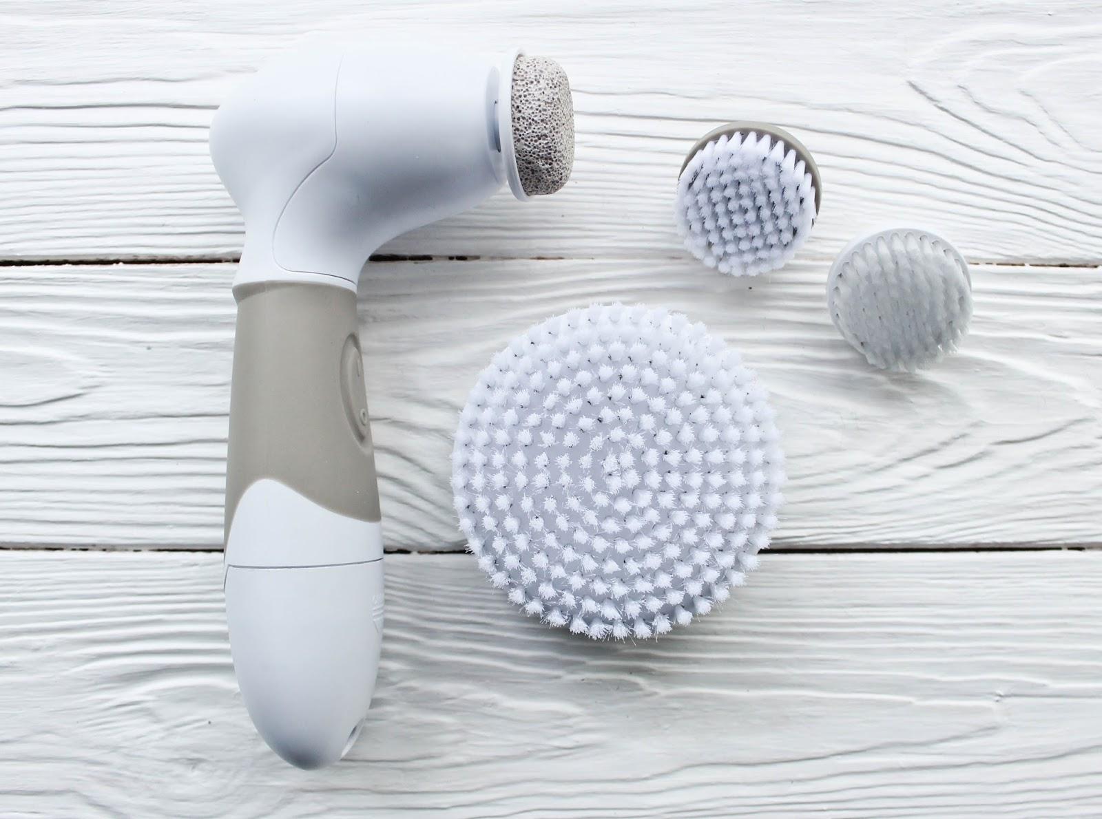spinning skin brush
