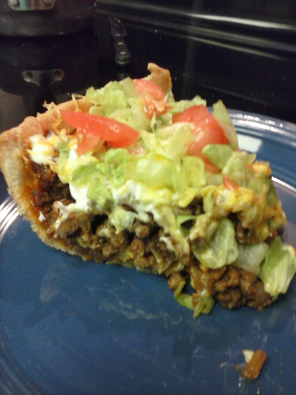 Taco Pie! Delicious, Fast, and Easy! ~ Frugal Mommy Christine
