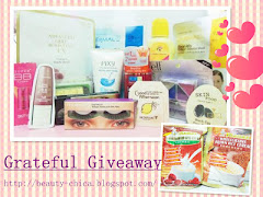Beauty Chica Grateful Giveaway