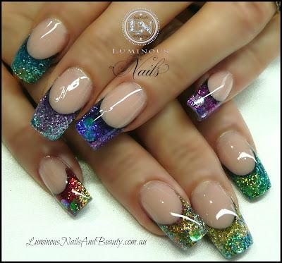 acrylic nails  i love doing them